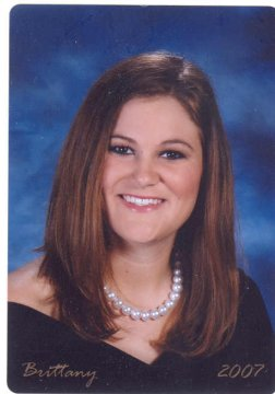 Brittany Lauren Johnson, Lee Co. High School senior picture, Leesburg, GA