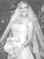 Jennifer Kathleen Dissen, bride of Luke Johnson, III