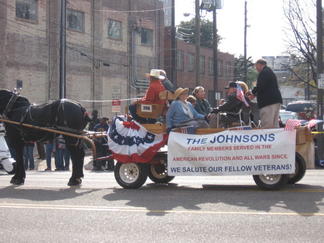 Johnson Family, Birmingham Veterans' Day Parade 2008